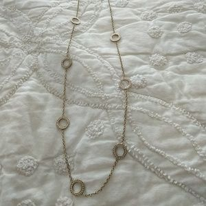 Anna Beck layering necklace in gold